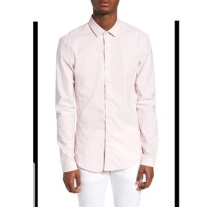 Topman muscle fit button down M